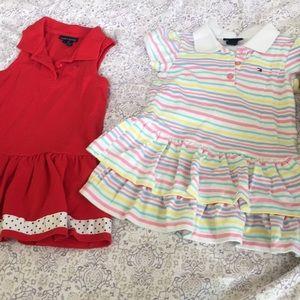 Girls Tommy Hilfiger dress bundle